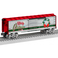 Christmas Light Express Boxcar, O Scale