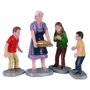 FAMILY TRADITION, SET OF 4