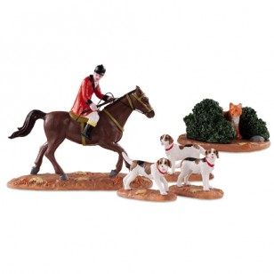 FOX HUNT, SET OF 5