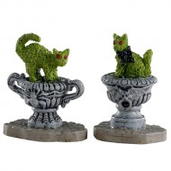 HAUNTED TOPIARY, SET OF 2