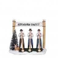 Alpenhorn Contest, h11cm