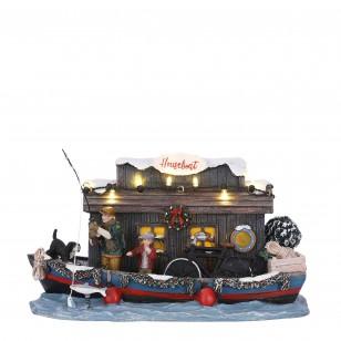 Houseboat, BO, Adapter 1095287 Ready, h12cm
