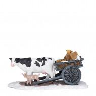 Farmer Cart, h7.5cm