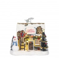 Decorating the House, Animated,  Adapter 1095287 Ready, h17cm