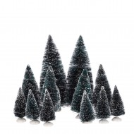 Bristle Trees, Assorted 12 Pieces
