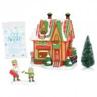 North Pole Ribbon Candy, Set of 4, Compare at $100