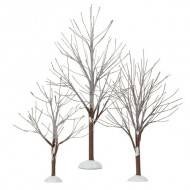First Frost Trees, Set of 3, Compare at $24