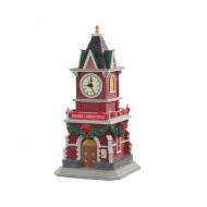 TANNENBAUM CLOCK TOWER, B/O (1.5V)