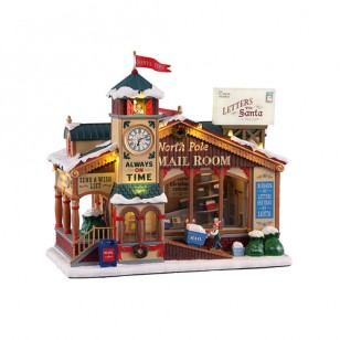 NORTH POLE MAIL ROOM, WITH 4.5V ADAPTOR