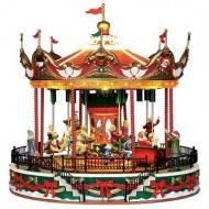 Santa Carousel, with 4.5V Adaptor