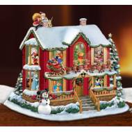 Disney Story House, Night Before Christmas, MSRP $179.99