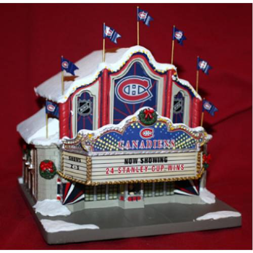 online retailer b9bf4 a2abb Montreal Canadiens Theatre | Christmas Village Shop