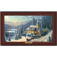 Kinkade SUNDAY EVENING SLEIGH RIDE, 50 X 30cm, Compare at $129.99