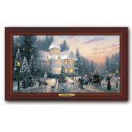 Kinkade VICTORIAN CHRISTMAS, 50 x 30cm, Compare at $129.99