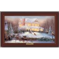 Kinkade VICTORIAN CHRISTMAS II, 50 x 30cm, Over 150 Lights, compare at $129.99