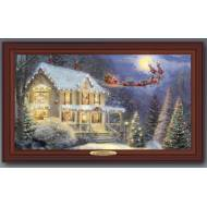 Kinkade NIGHT BEFORE CHRISTMAS, 50 x 30cm, Compare at $129.99