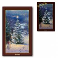 Kinkade O' CHRISTMAS TREE, 30 x 50cm, Over 70 Lights, Compare at $129.99