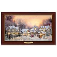 Kinkade VILLAGE CHRISTMAS, 50 x 30cm, Over 80 Lights, Compare at $129.99