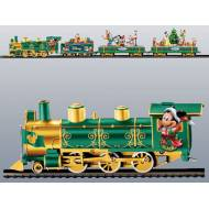 Disney Christmas Train Set, On30, includes FREE Decorating the Tree Car, a $120 Savings