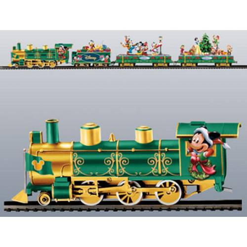 disney christmas train set on30 includes free decorating the tree car a 120 - Disney Christmas Train