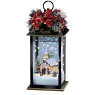 Kinkade HOLIDAY LANTERNS-FAITH
