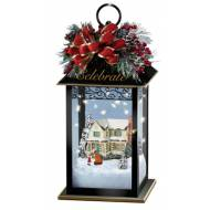 Kinkade HOLIDAY LANTERNS-CELEBRATION