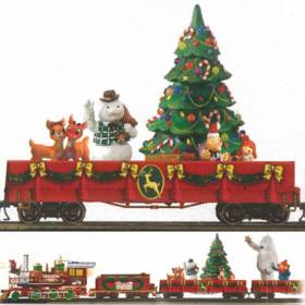 Rudolph Express On30 Train Set, Includes free Car, Free $120 Value