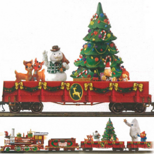 Rudolph Express On30 Train Set, Includes free Elf Passenger Car 004, Free $120 Value