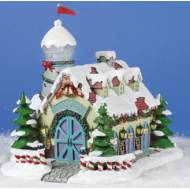 Reindeer Barn/Weather Tower, MSRP $79.99