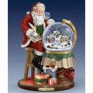 Santas Checking his List, Kinkade, MSRP $149.99