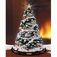 Christmas Village Mini Tree, MSRP $225