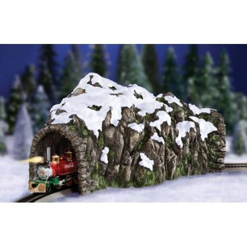 Ho Christmas Train.Rocky Mountain Ho Train Tunnel Christmas Village Shop