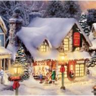 Santa's Workshop Toys, Kinkade