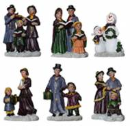 Assorted Victorian Figurines, Set of 4