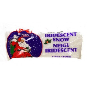 169G BAG IRIDESCENT SNOW