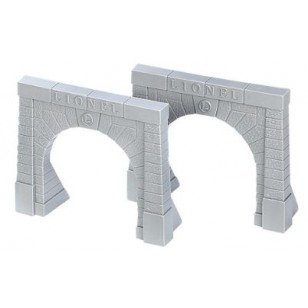 LIONEL TRAIN TUNNEL PORTALS, SET OF 2