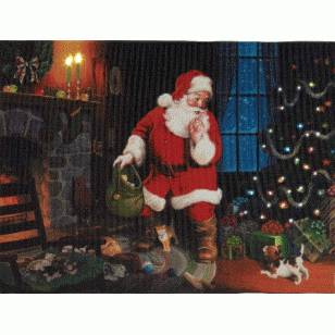 Santas Secret, Illuminart Approx 12 x 16 inches, was $49.95