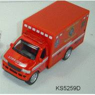 Rescue Team Paramedics, Red