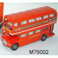 London Double Decker Bus, 5 inch