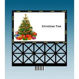 Custom Christmas Billboard