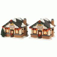 Harley Roadside Cabins, Set of 2, MSRP $168