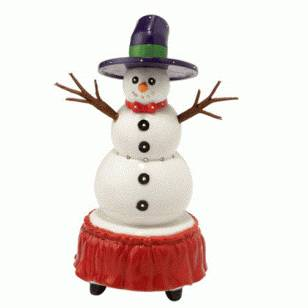 Brite Lites Parade Snowman, Retired, MSRP $29