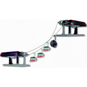 G Scale, Uni-G Profiset, Black/Red, Base & Mountain Stations