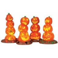 Light Up Pumpkin Stack