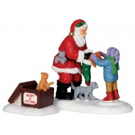 Santa & Kittens, Set of 2
