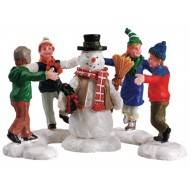 Ring Around the Snowman, Set of 3