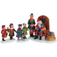 Visiting Santa, Set of 3
