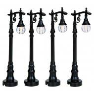 Antique Street Lamp, Set of 4